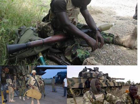Today's Headlines : Nigerian soldier shoots himself in the head, Boko Haram attacks and kills 3 Soldiers in Maiduguri