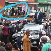 This Photo Of President Uhuru In Nyeri Has Left People Talking