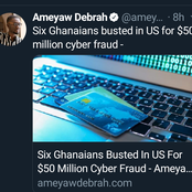 Ghanaians On Twitter Pin The $50 Million Fraud Committed By Their People In America On Nigerians