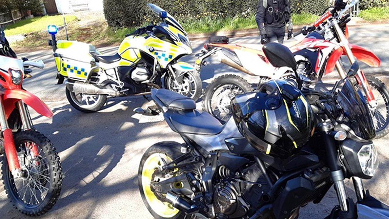 Bikers reminded to stay safe after more than 100 offences reported during bank holiday policing operation