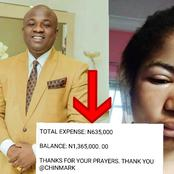 Check Out How Much Is Remaining From The 2 Million That A Nigerian Businessman Gave To Ada Jesus