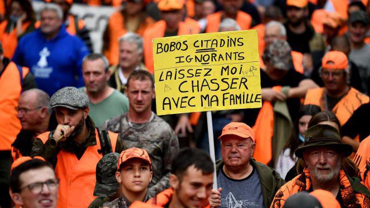 Pour défendre la chasse et la ruralité, des dizaines de milliers de personnes manifestent en France