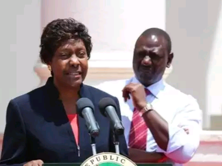 What Ngilu Said About Ruto That Has Left People Talking