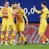 Check Out Reactions As Barcelona Fans Shower Praises On Star Player After An Impressive Performance