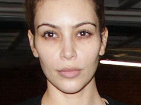 See What Kim Kardashian Looks Like Without Makeup