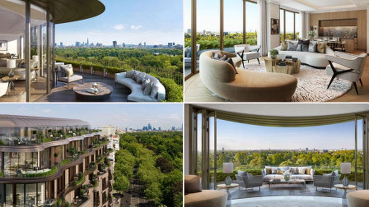 Six-bed flat overlooking Hyde Park on sale for a whopping £60 million