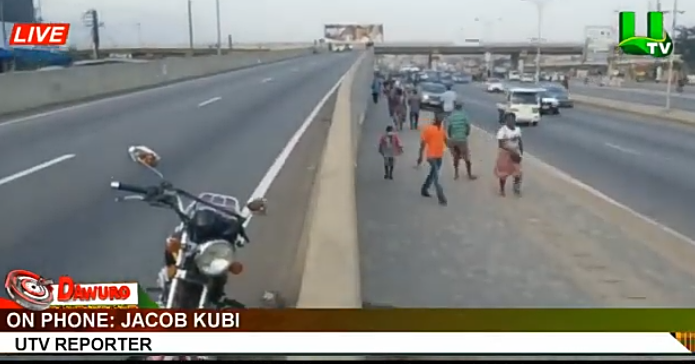 91c6890e1369d0ca1f4a9a612c8cd74e?quality=uhq&resize=720 - Breaking News: Okada Rider and Passenger fall from Mallam overhead, 1 Dead