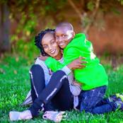 10 Alluring Photos of The Kikuyu Benga Artiste Joyce Wa Mamaa's Only Handsome Son