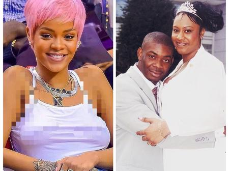 Donjazzy Crush Rihanna Versus His Ex Wife Who Do You Think Looks More Beautiful? (See Photos)