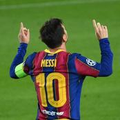 Lionel Messi Breaks and Set New Champions League Record On Tuesday Night. Check it Out!