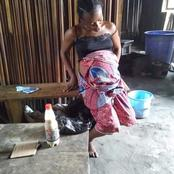This pregnant Lady who takes refuge at uncompleted home was almost raped.  See what was done for her
