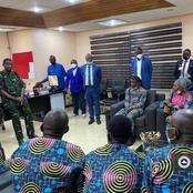 Pastor Adeboye meets with freed church members in Kaduna
