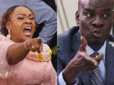 Hawa Koomson in trouble as she is 'slapped' with serious questions from Haruna Iddrisu and his team