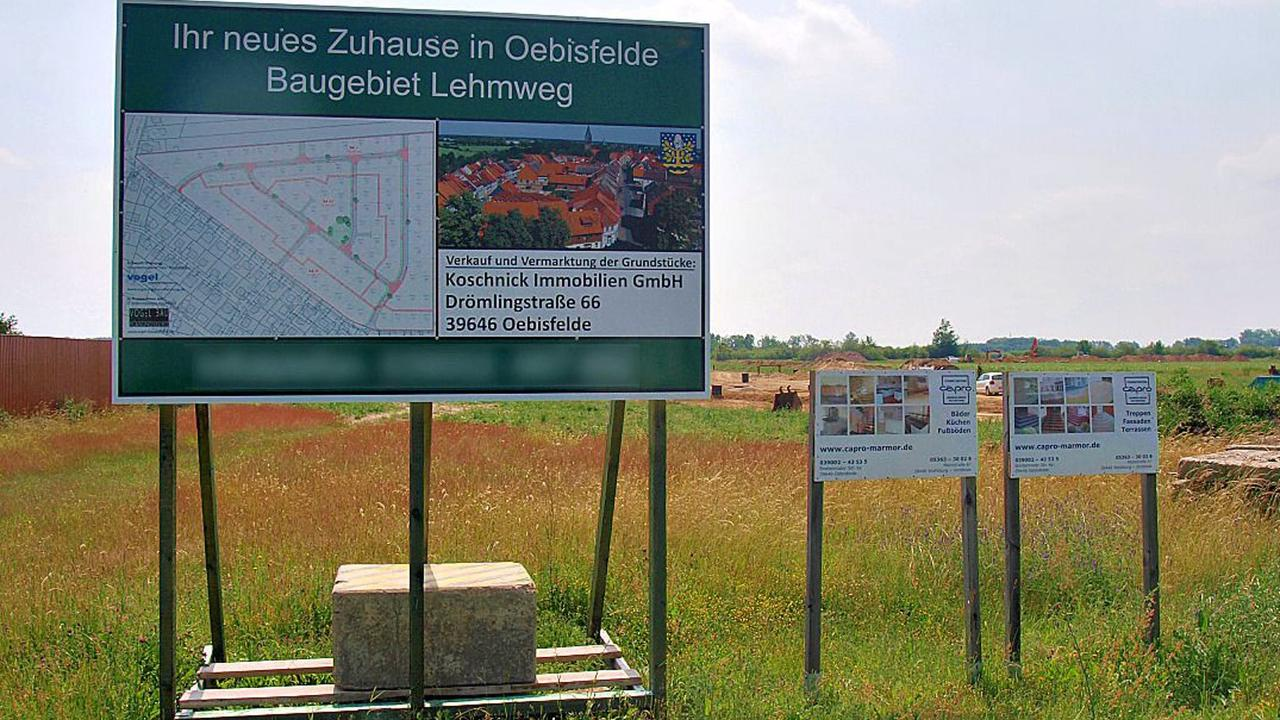 Neue Oebisfelder Straßen sollen Namen von Wissenschaftlern und Künstlern erhalten