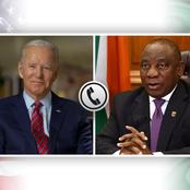 BREAKING: Ramaphosa To Address South Africans Concerning His Meeting With Joe Biden Today