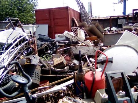 Ashaiman Scrap Dealers On War Path With ASHMA/TDC Over Imminent Eviction