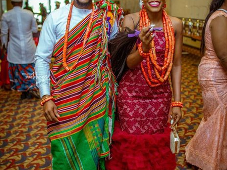 Check Out Fashionable Igbo Traditional Wedding Attires