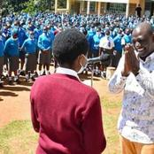 DP William Ruto Criticized After Visiting A School On A Learning Day