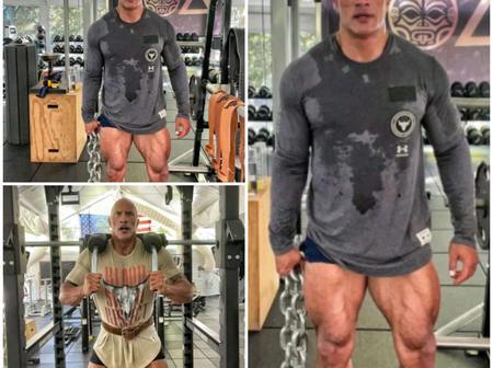 Dwayne The Rock on gym left the world speechless