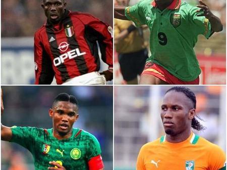 Top 10 des plus grands footballeurs africains de tous les temps