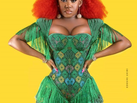 Top 11 most curvaceous Nigeria female celebrities, see who is at number one.