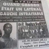 Gbagbo Laurent, un ancien footballeur latéral gauche