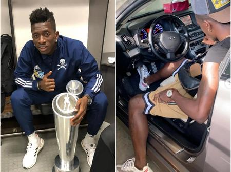 Checkout Jean-Marc Makusu of Orlando Pirates' simple lifestyle (see photos)