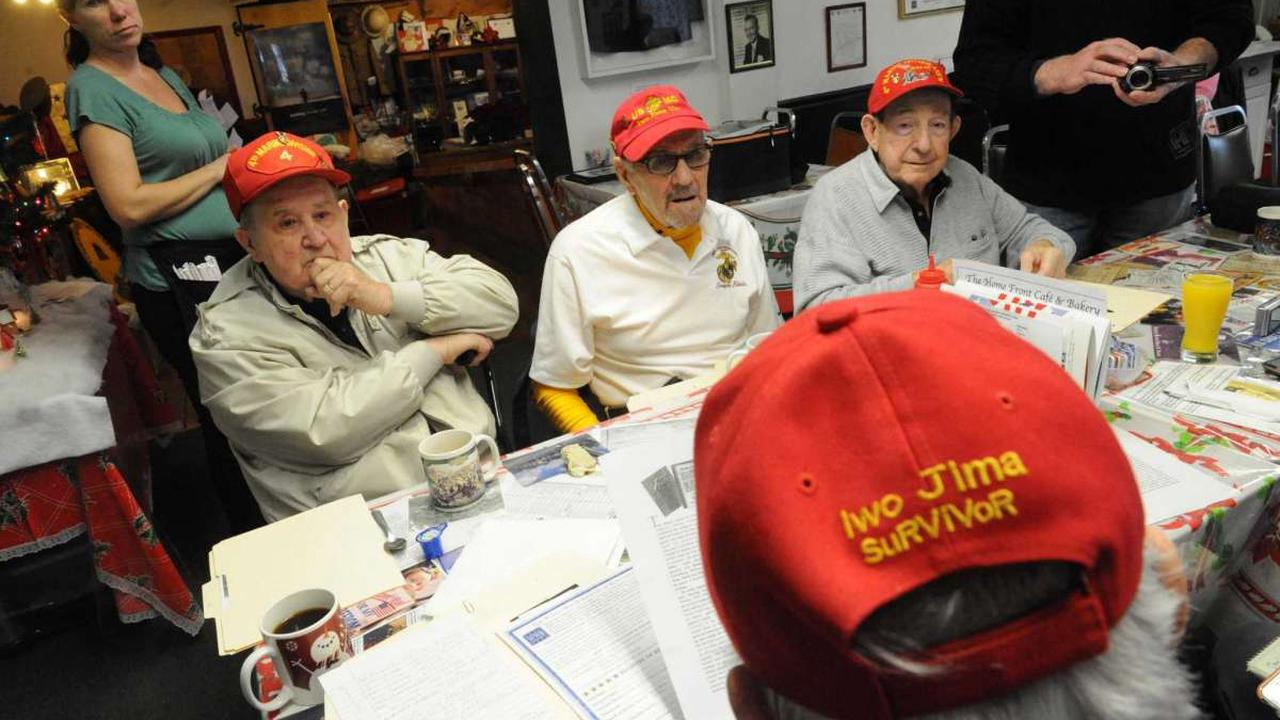 Listen: Local veterans connect to remember Battle of Iwo Jima