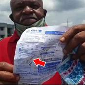 There Was A Protest In Rivers State Today, See Some Light Bills That People Were Asked To Pay(Video)