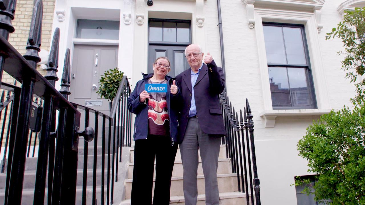 Lucky OAP who won £3m London pad in raffle sticks with her modest two-bed semi