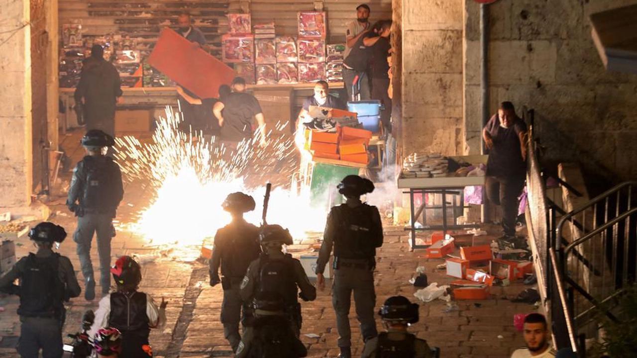 Jérusalem : nouvelle soirée d'affrontements, plus de 50 blessés