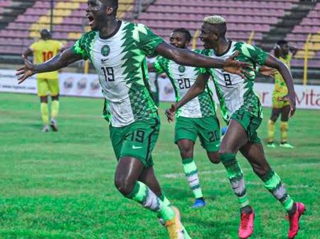 After Nigeria's Victory Against Lesotho, Checkout How Many Points They Have in AFCON