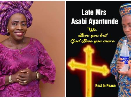 Tragedy As Popular Nollywood Actress, Ashabi Ayantunde Was Pronounced Dead Few Hours After Birthday