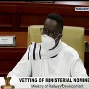 Peter Amewu Warms Hearts With Bold Statement About SALL At Vetting.