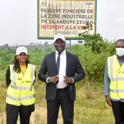 La future Zone Industrielle d'Akoupé-Zeudji entre dans sa phase opérationnelle