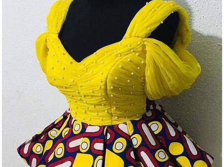 Check Out These 30 Trendy Peplum Ankara Blouse Styles For Fashionistas To Rock This Coming Easter