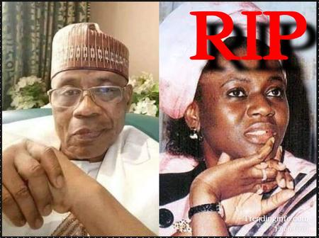 11 Years After The Death Of Babangida's Wife , See His Recent Photos And Other Children