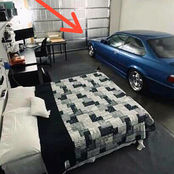 Bmw Driver Sharing A Room With His Car Shook The Whole Mzansi (see comments)