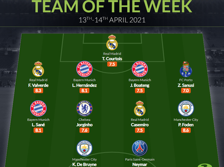 Chelsea Star Named In Champions League Team Of The Week