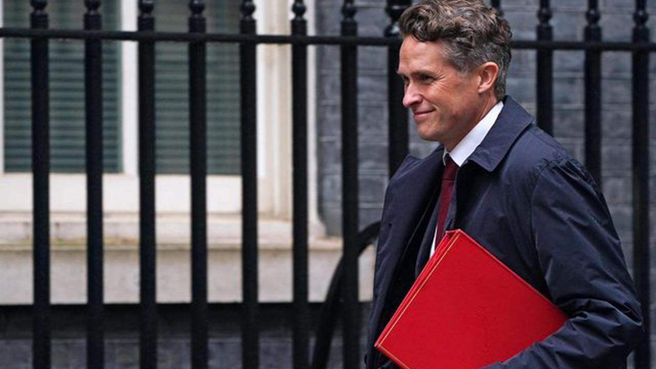 Gavin Williamson removed as Education Secretary as Boris Johnson's reshuffle takes place