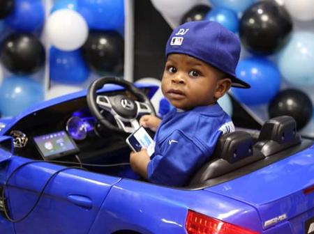 3-year old boy gets a brand new Mercedes as birthday gift