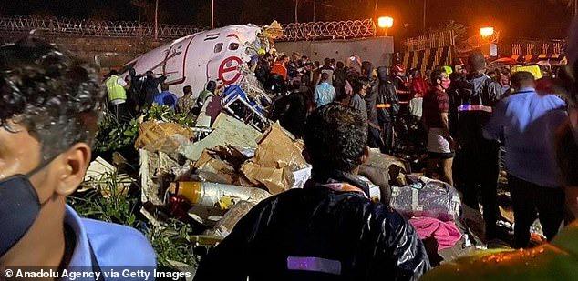 Update: At least 16 dead including both pilots, and 123 injured as Air India flight from Dubai with 191 people onboard crash-lands at Calicut Airport (photos)