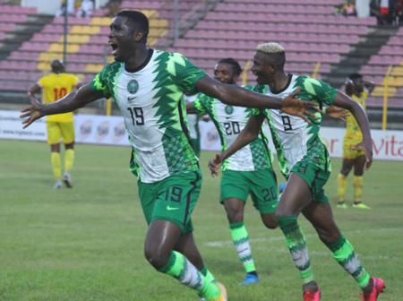Onuachu Ready To Lead Nigeria's Attack Against Lesotho On Tuesday