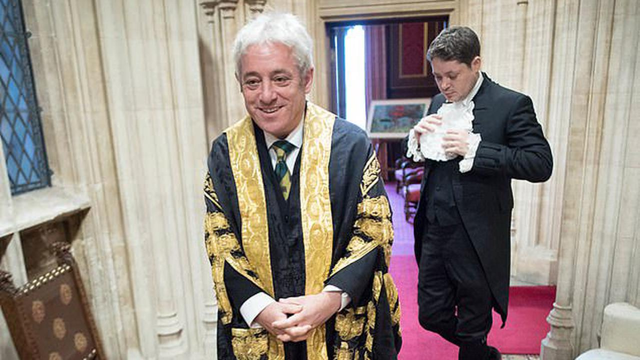 Now 'biased' John Bercow shows his true colours as the ex-Speaker finally 'comes clean' and joins the 'anti-Brexit' Labour Party