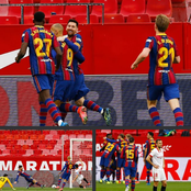 Fc Barcelona fans: see what Sergino Dest said  after their victory against Sevilla.