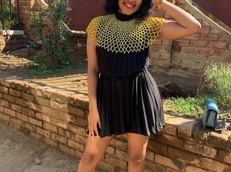 Vincent Pule shows off his beautiful girlfriend.