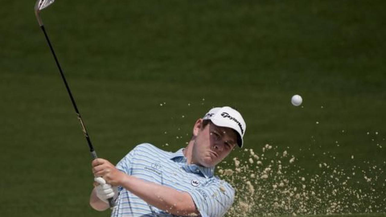 Masters 2021: Robert MacIntyre battles hard and finishes strong for a 74 on Masters debut