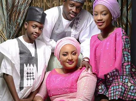 Beautiful Pictures Of Ali Nuhu And His Family
