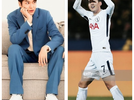 Between Lee Min Ho and Son Heung Min, who looks most adorable in a military uniform?