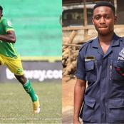 B/R: Police Arrests Aduana Stars' Defender, Farouk Adams